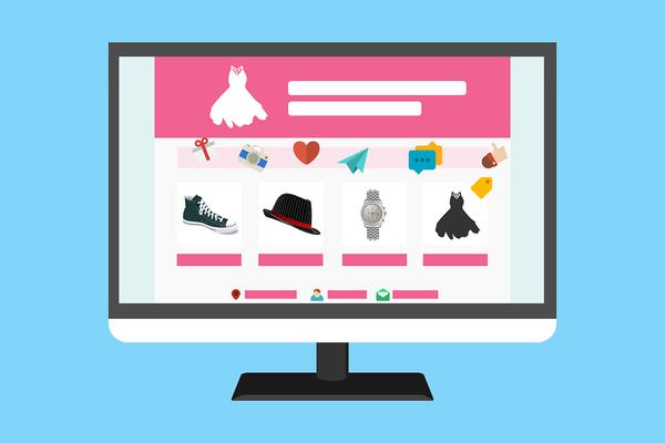 Strony internetowe sklepów