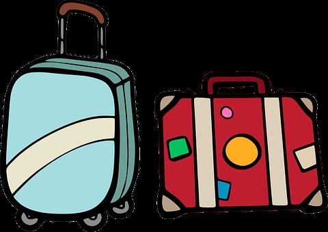 profesjonalna walizka kabinowa 55x40x20